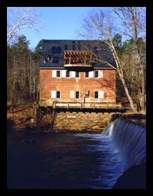 New skylights and balcony for a historic mill in Central Virginia, with renovations, designed by Candace Smith Architect